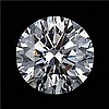 GIARound Diamond Brilliant,0.54ctw,D,SI2