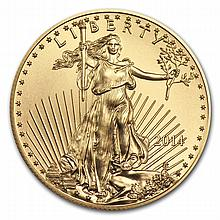2014 1/2 oz Gold American Eagle - Brilliant Uncirculated