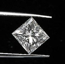 GIAPrincess Cut Diamond ~~0.4ctw ~~F,SI1