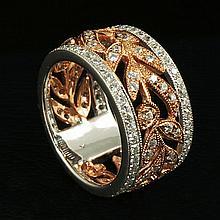 18kw Diamond Ring 1.25ct, G/SI1