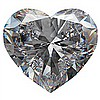 GIAHeart Shape,1.01carat,F,VS2