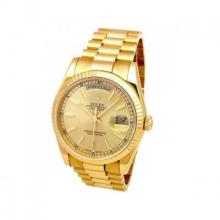 Pre-owned Mens Rolex Yellow Gold Daydate - #1895Y7K