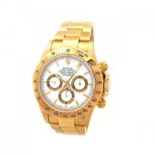 Pre-owned Mens Rolex Yellow Gold Daytona - #2291A7Z