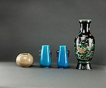 Late Qing . A Group Of Four Porcelain Items