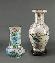 Republic. A Group Of Two Famille Vases