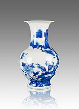 19th Century-A Blue And White