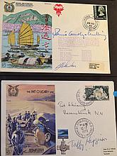 Various first day covers, Royal Airforce Escaping