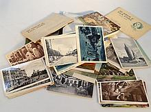 Various ephemera cigarette cards and first day co