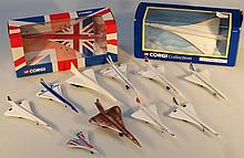 Concorde interest, a quantity of model planes, to