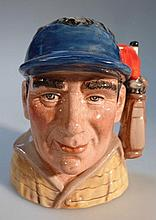 A Royal Doulton character jug, The Golfer D7064,