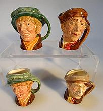 Four Royal Doulton character jugs, comprising Arr