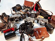 Various cameras and equipment, to include Zenith-