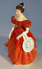 A Royal Doulton figure, Winsome HN2220, 21cm high