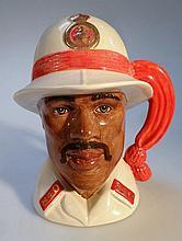 A Royal Doulton Character jug, Bahamas Policeman