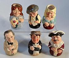 Royal Doulton Doultonville Collection figures, to