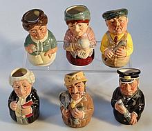 Royal Doulton Doultonville Collection character j