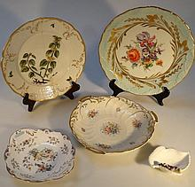 Various cabinet plates, to include by Limoges wit