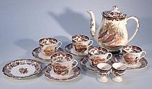 A Royal Worcester Palissy Games Series part servi