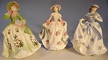 Various Royal Worcester figures, comprising Sweet