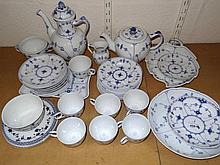 A Royal Copenhagen part tea and coffee service, t