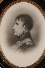 20thC School. Napoleon Bonaparte, side profile, b