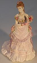 A Royal Worcester figure, The Royal Presentation,