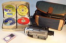 Various electrical items, to include an MP3 playe