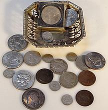 Various coins, to include pre-decimal coins, Comm