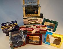Various die-cast vehicles, to include Corgi toys,