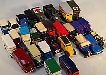 Various die-cast vehicles, to include Solido 1:60