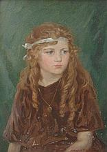 Edgar H Fisher (Exh. 1908-1933). Half length portr