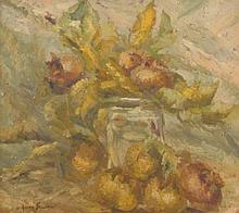 Owen Bowen (1873-1967). Floral still life, oil on