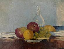 Joseph Pighills (1902-1984). Still life with fruit