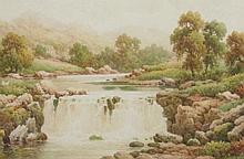 Charles A Bool (19th/20thC). Near Dolgelly, North