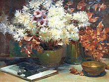 Henry Young Alison (1889-1972). Floral still life,