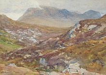 Arthur Trevethin Nowell (1862-1940). Moorland scen