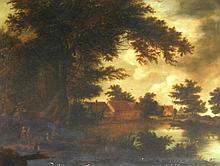 Henry John Boddington (?) (1811-1865). Landscape w