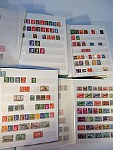 A quantity of various world used stamps, to include Germany with Leipzig and other marks, Madagascar