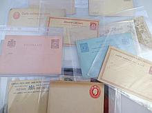 Various 19thC and later stamped envelopes and postcards, to include Victoria and others for Natal, 8