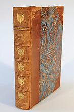 Bewick (Thomas). A General History Of Quadrupeds, 18thC third edition, 483 printed pages, in marbled