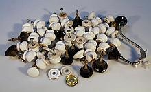 Various pot knob handles. (a quantity)