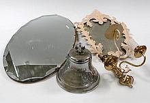 A mid-20thC chrome plated ship's bell, for the Oilwell vessel dated 1969, of typical form, with fixe