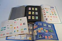 Various GB and world stamps, to include part sets Mongolia, flowers, Canadian and German examples an