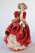 A Royal Doulton figure, Top O' The Hill HN1834, printed marks beneath, 20cm high.