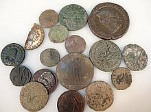 A quantity of various hammered coins, to include Roman and later, Decursio, hammered silver example,