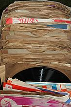 A quantity of various 45 records, to include classical, HMV, foxtrot, various other records. (a quan