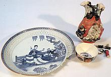 Various oriental porcelain, comprising a Chinese