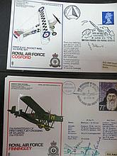 Various first day covers, Royal Air Force Museum
