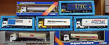 Various Corgi die-cast vehicles, to include P&O; M
