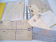 Various billheads, envelopes and letters, to incl